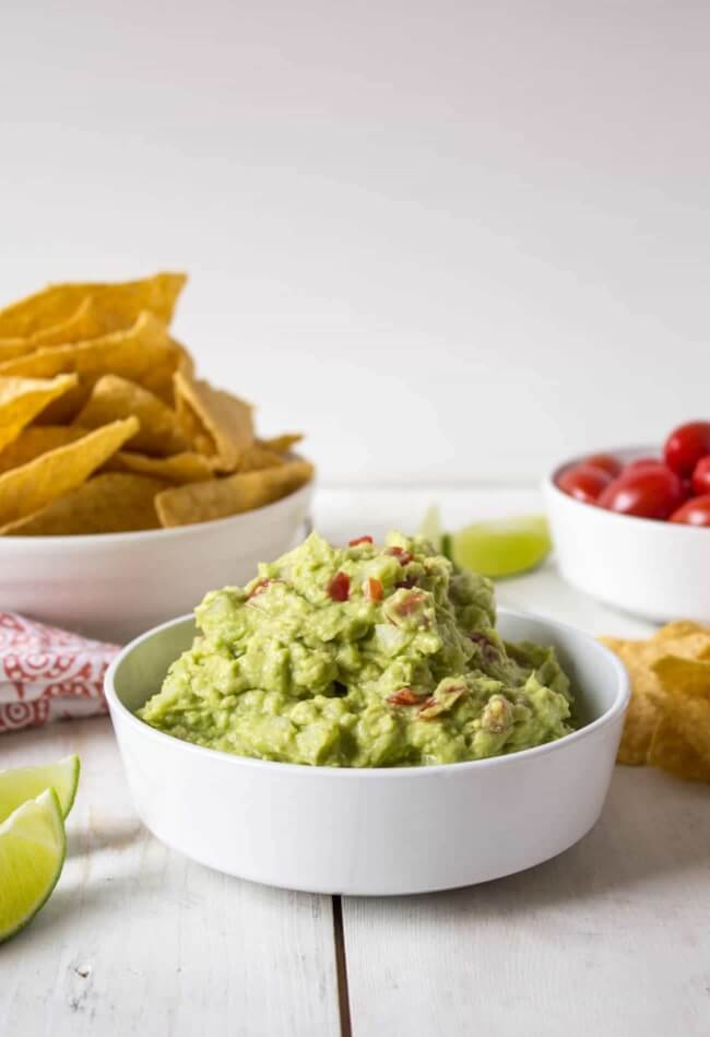 Homemade Guacamole | Beyond the Chicken Coop