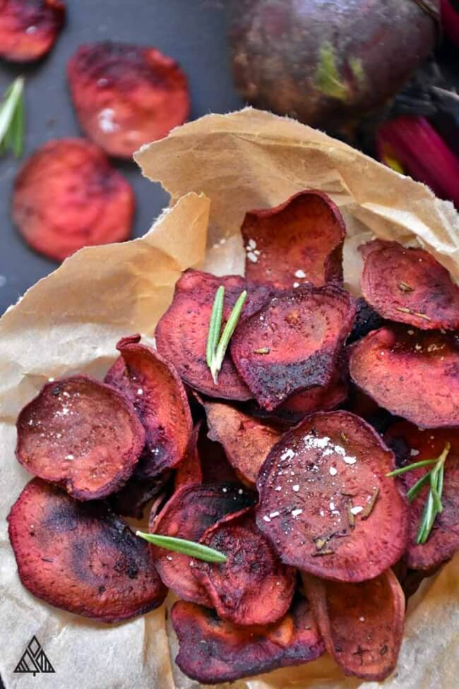 Beet Chips   The Little Pine