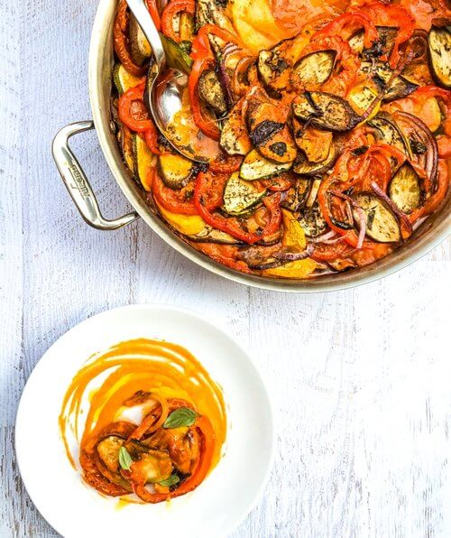 Easy One-Pot Classic French Ratatouille