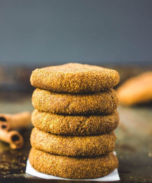 Paleo Pumpkin Spice Protein Cookies | One Clever Chef