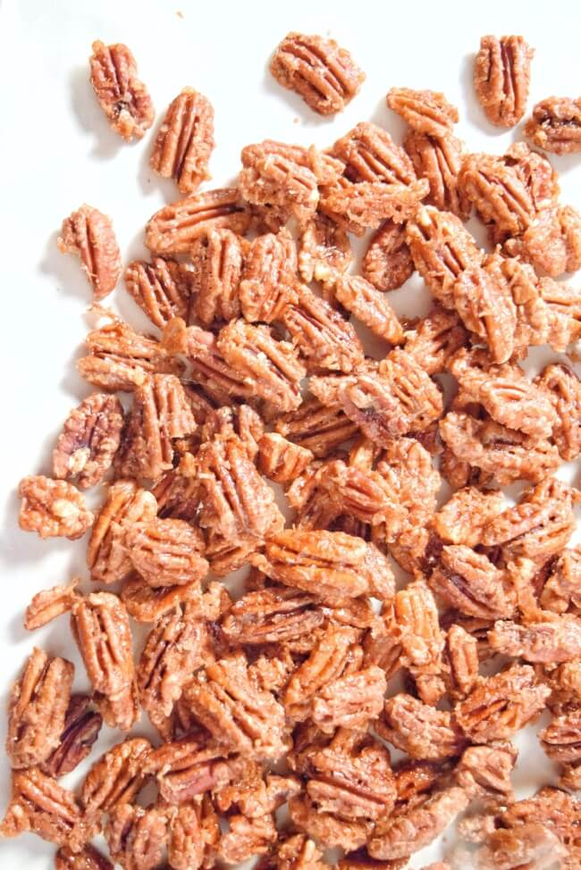 Cinnamon Coconut Roasted Pecans (Refined Sugar Free, Vegan) | Personally Paleo