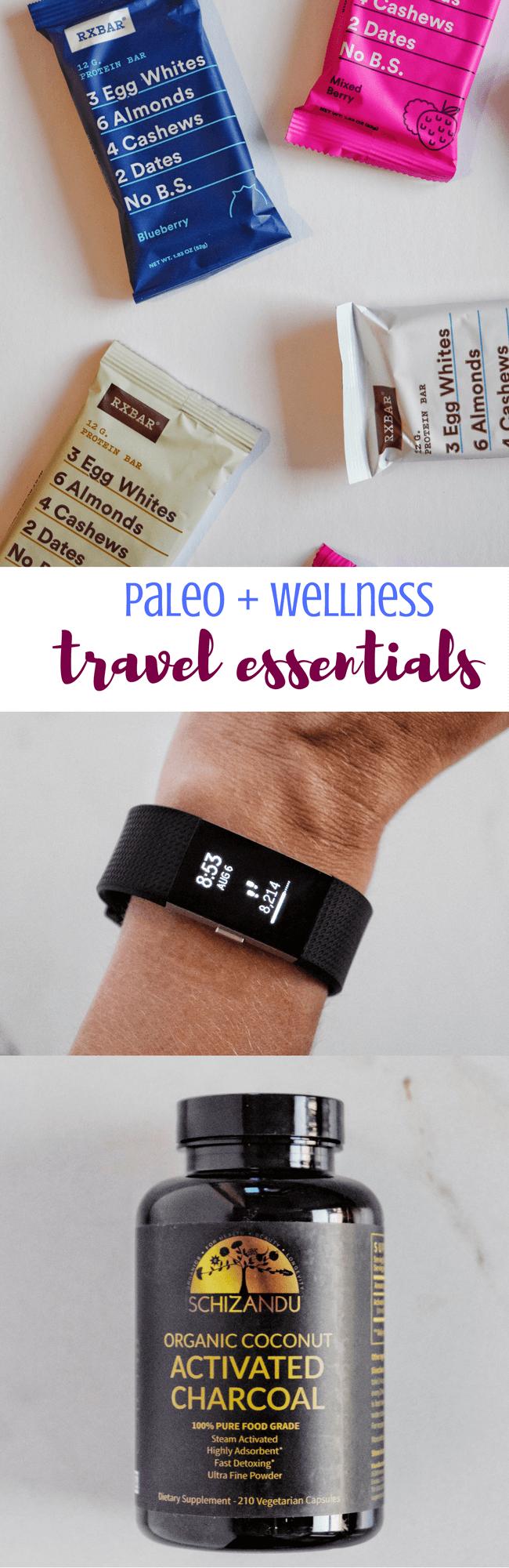 Paleo + Wellness Travel Essentials | Personally Paleo