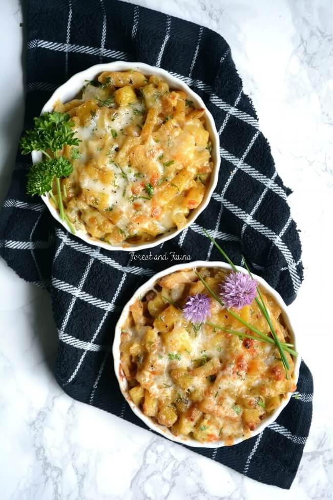 Healthy Mac and Cheese with Veggies - Low Carb | Forest and Fauna