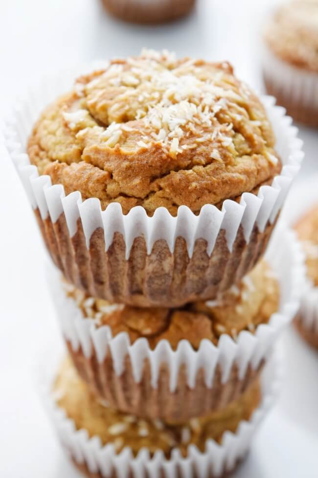 Dairy Free Banana Bread Muffins