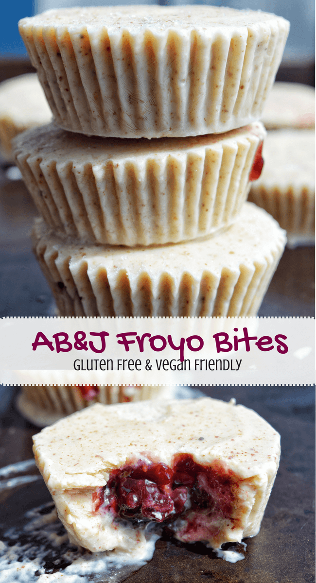 AB&J Froyo Bites (Gluten Free, Vegan Friendly) | Personally Paleo