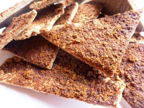 "Cinnamon Sugar ""Pita"" Chips"