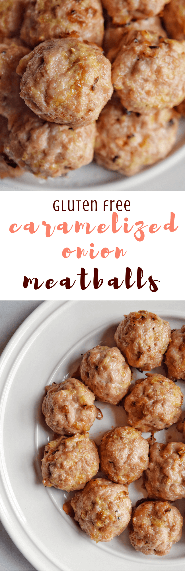Gluten Free Caramelized Onion Meatballs (Paleo, Sugar Free) | Personally Paleo