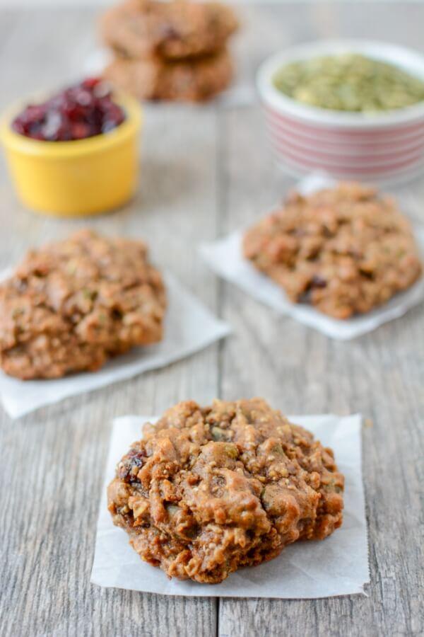 Sweet Potato Protein Cookies | The Lean Green Bean
