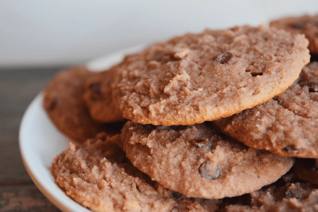 Grain Free Raspberry Chocolate Chip Cookies (Gluten Free, Dairy Free) | Personally Paleo