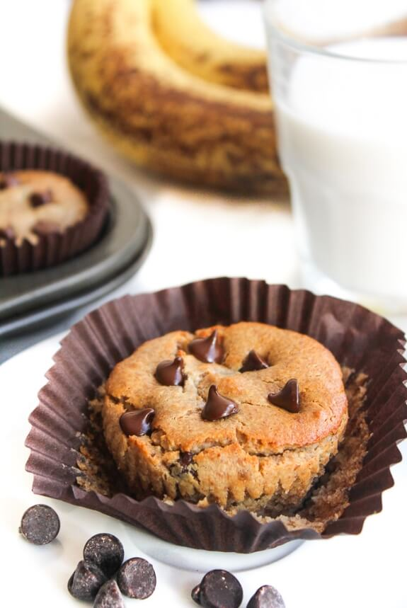 Almond Butter Blender Muffins | A Saucy Kitchen