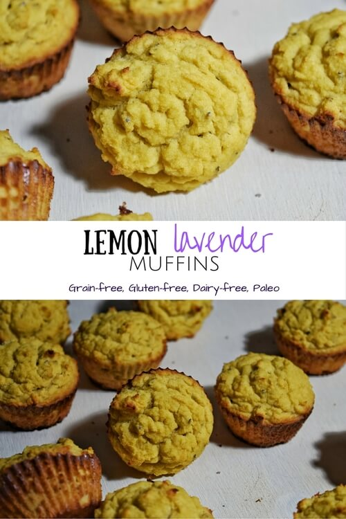Lemon Lavender Muffins | Personally Paleo
