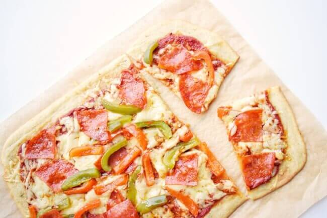 GF Flatbread Pizza Crust