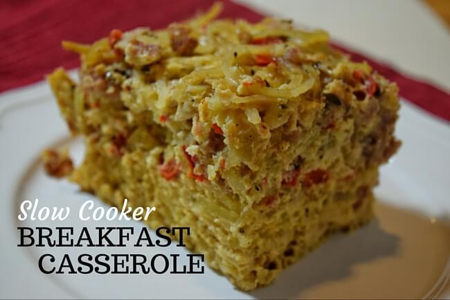 Slow Cooker Overnight Breakfast Casserole (Whole30, Dairy Free) | Personally Paleo