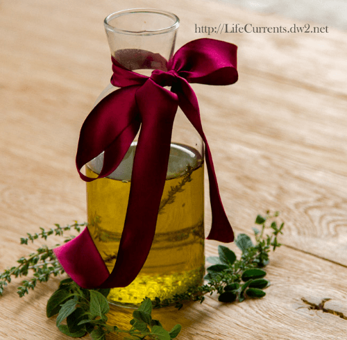 Roasted Herb Oil | Life Currents