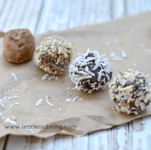 Dark Chocolate Truffles 3 Ways | Fearless Dining