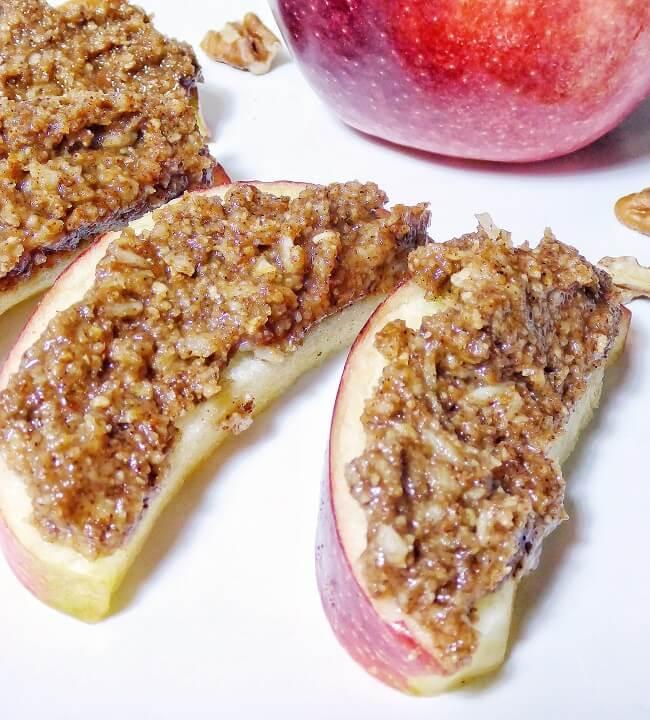 Refined Sugar Free Cinnamon Coconut Pecan Butter | Personally Paleo