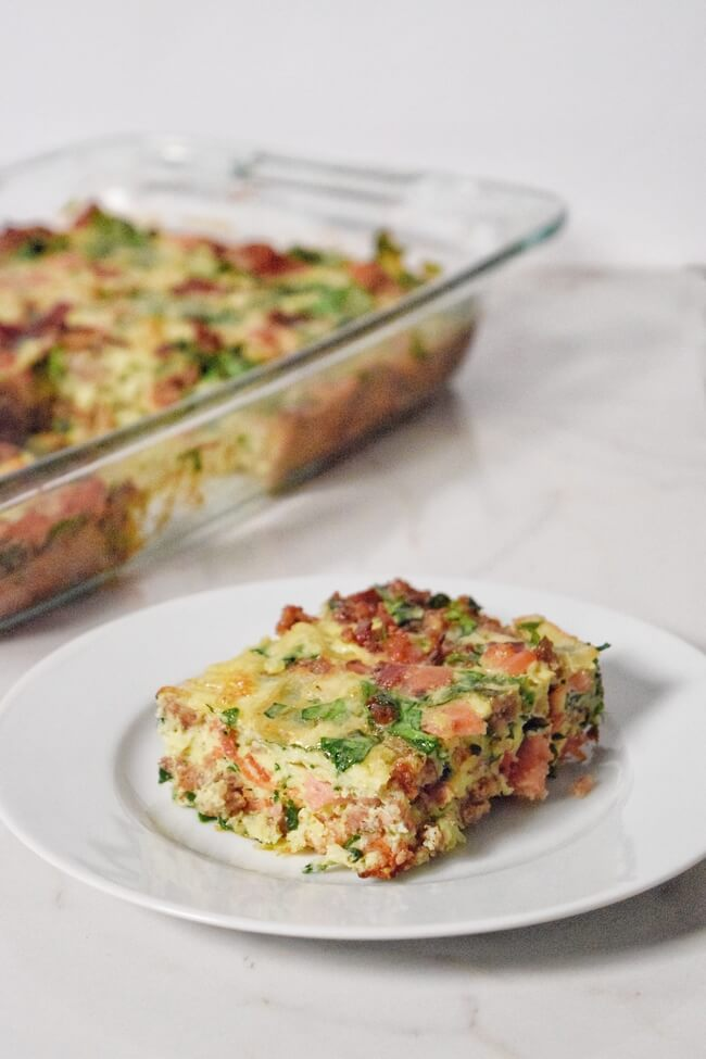 Pork Lover's Breakfast Casserole