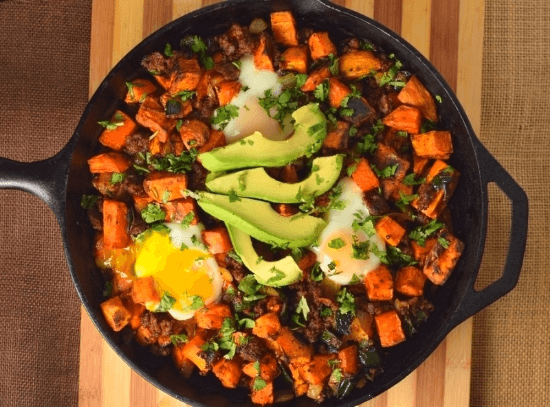 Sweet Potato and Chorizo Hash | Fox Valley Foodie