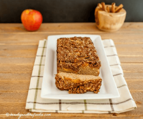 French Apple Pie Bread | Beauty & the Foodie