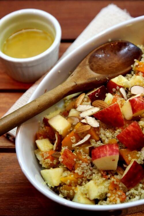 Apple Butternut Squash Quinoa Salad | Dish by Dish