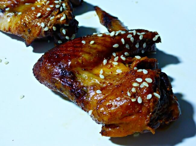 Slow Cooker Teriyaki Kick Chicken Wings (Soy Free, Refined Sugar Free) | Personally Paleo