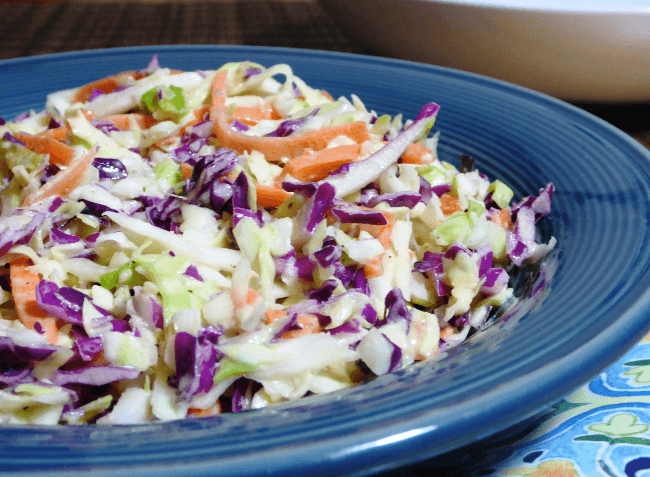 Whole30 Tangy Coleslaw