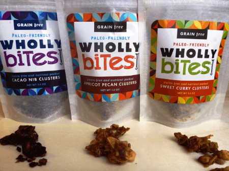 Wholly Bites Review + Cacao Nib Waffles Recipe Guest Post