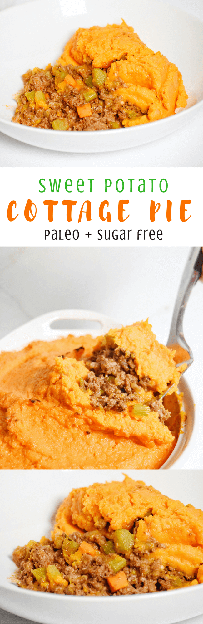 Paleo Sweet Potato Cottage Pie (Whole30) | Personally Paleo