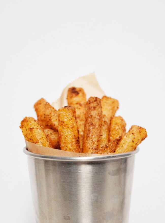 Low Carb Crispy Seasoned Jicama Fries