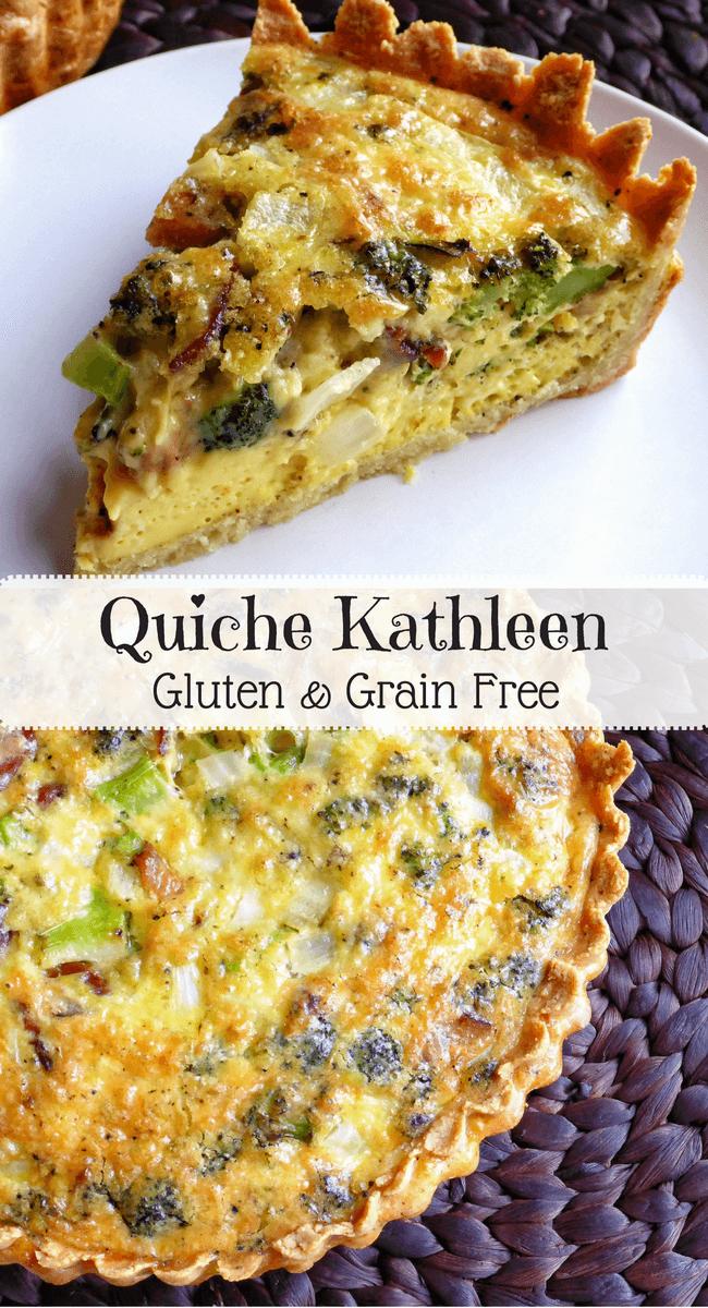 Grain Free Quiche Kathleen | Personally Paleo