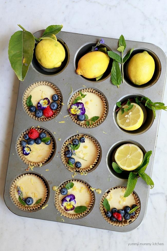 Vegan Paleo Lemon Tarts | Yummy Mummy Kitchen