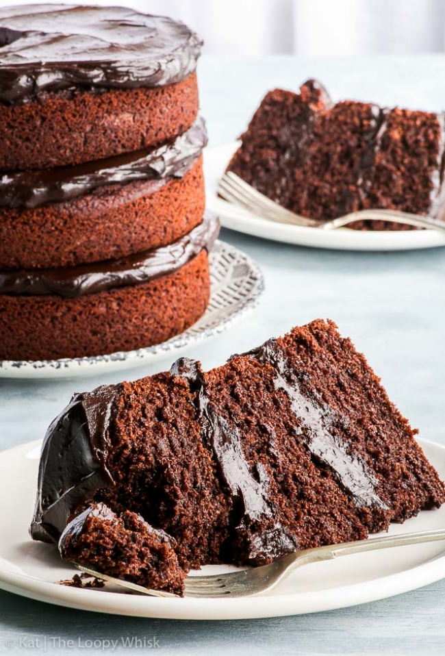 The Best Paleo Chocolate Cake Ever| The Loopy Whisk