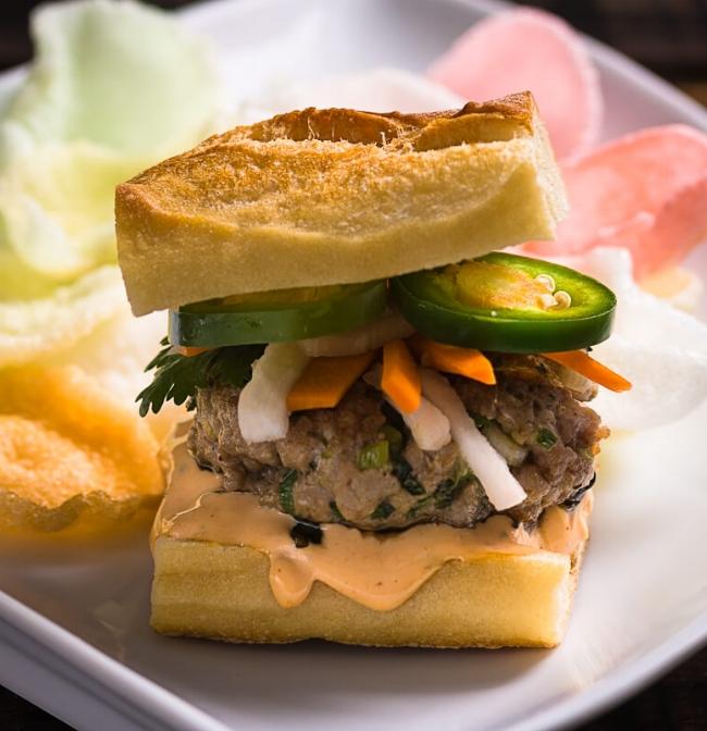 Pork Banh Mi Burger| Nomageddon