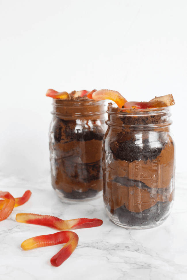 Triple Chocolate Dirt Cups | Chickpea in the City