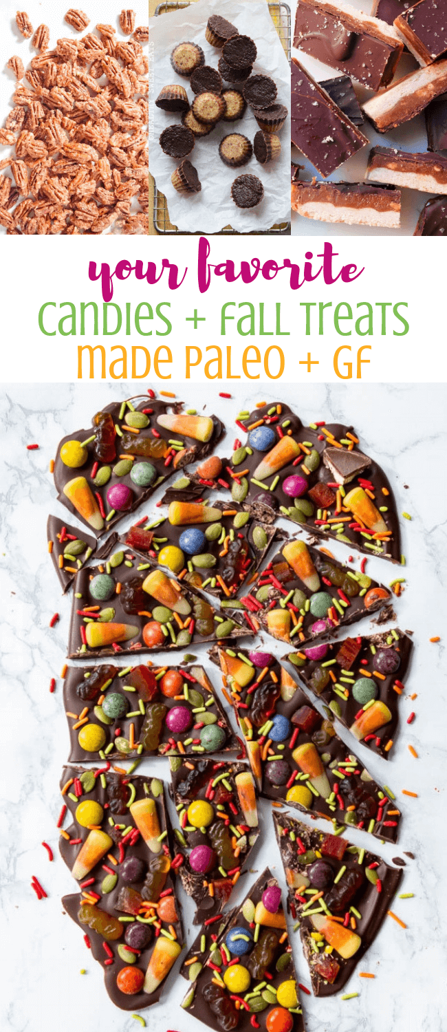 Your Favorite Fall Treats + Candies Made Paleo & GF |  Personally Paleo