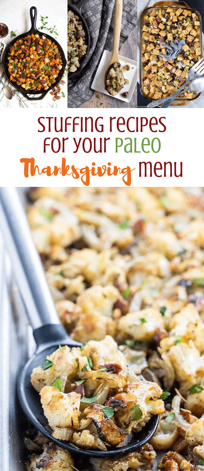 Stuffing Recipes for Your Paleo Thanksgiving Menu  |  Personally Paleo