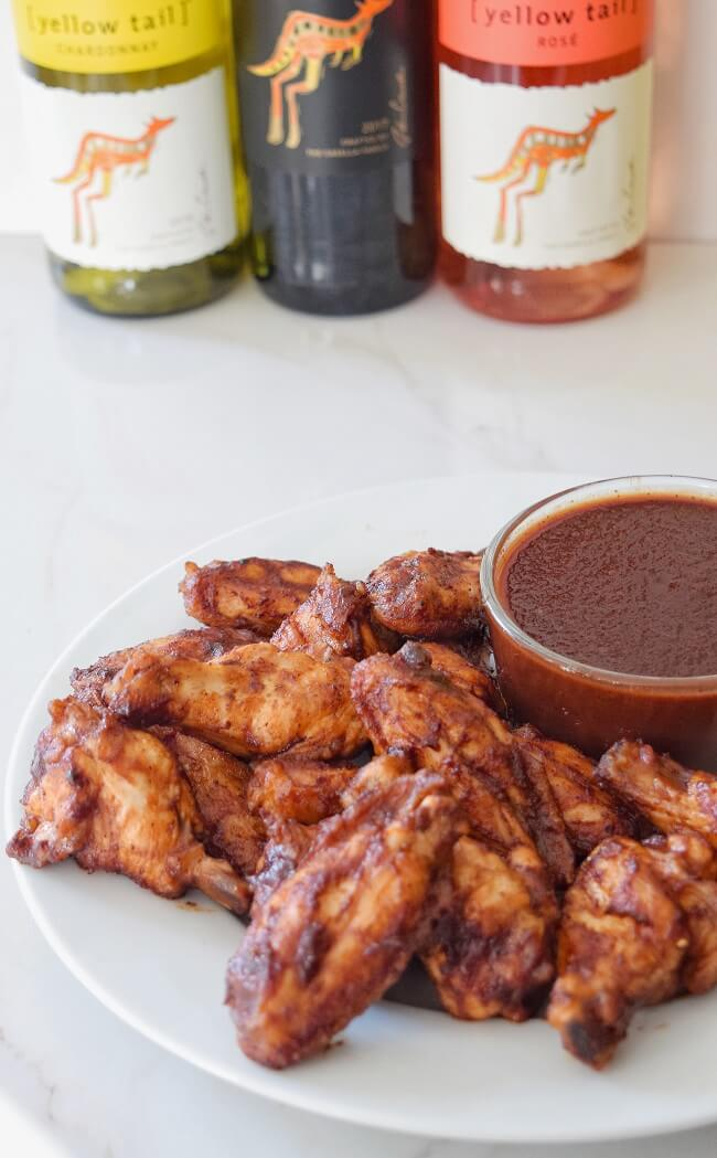 Gluten Free Red Wine BBQ Wings | Personally Paleo