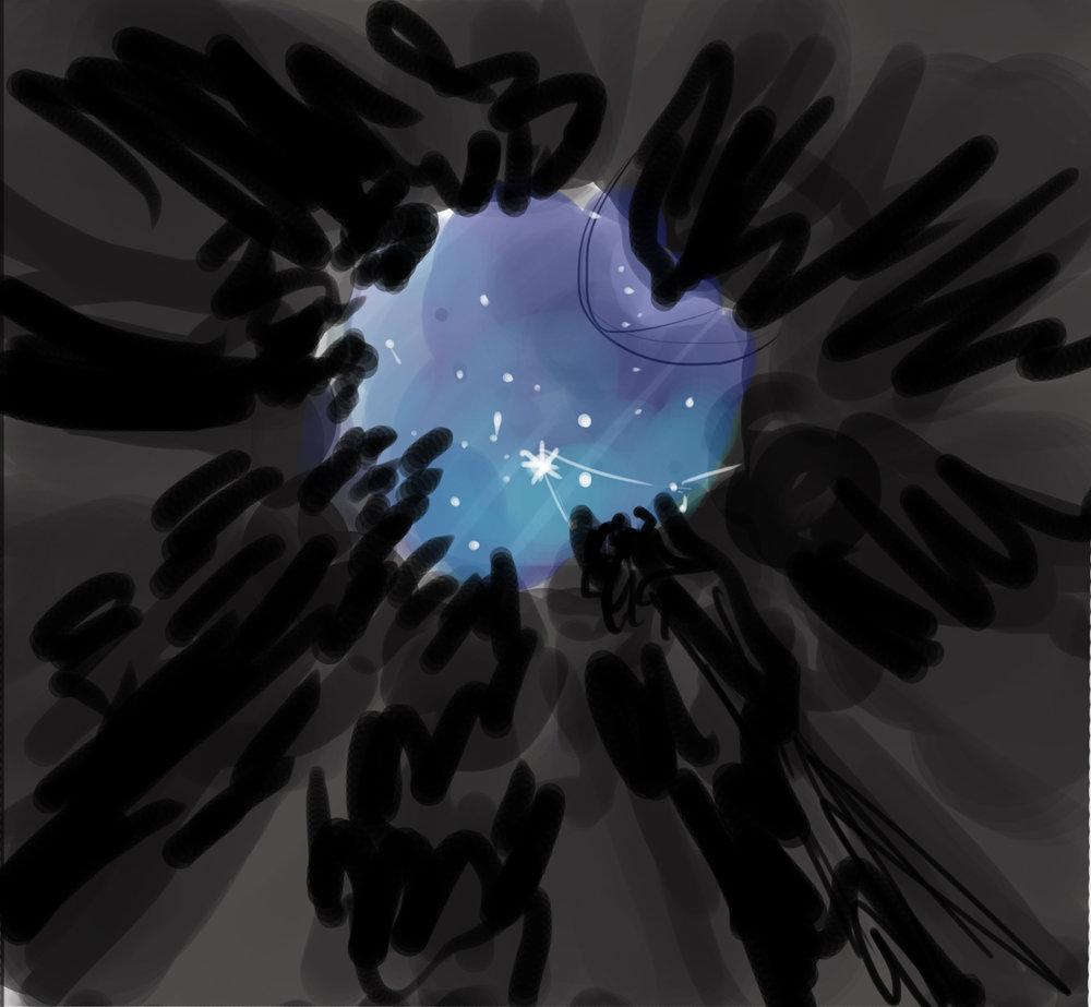 mis bocetos de prubas de color son asi de cutres. #notengovergüenza