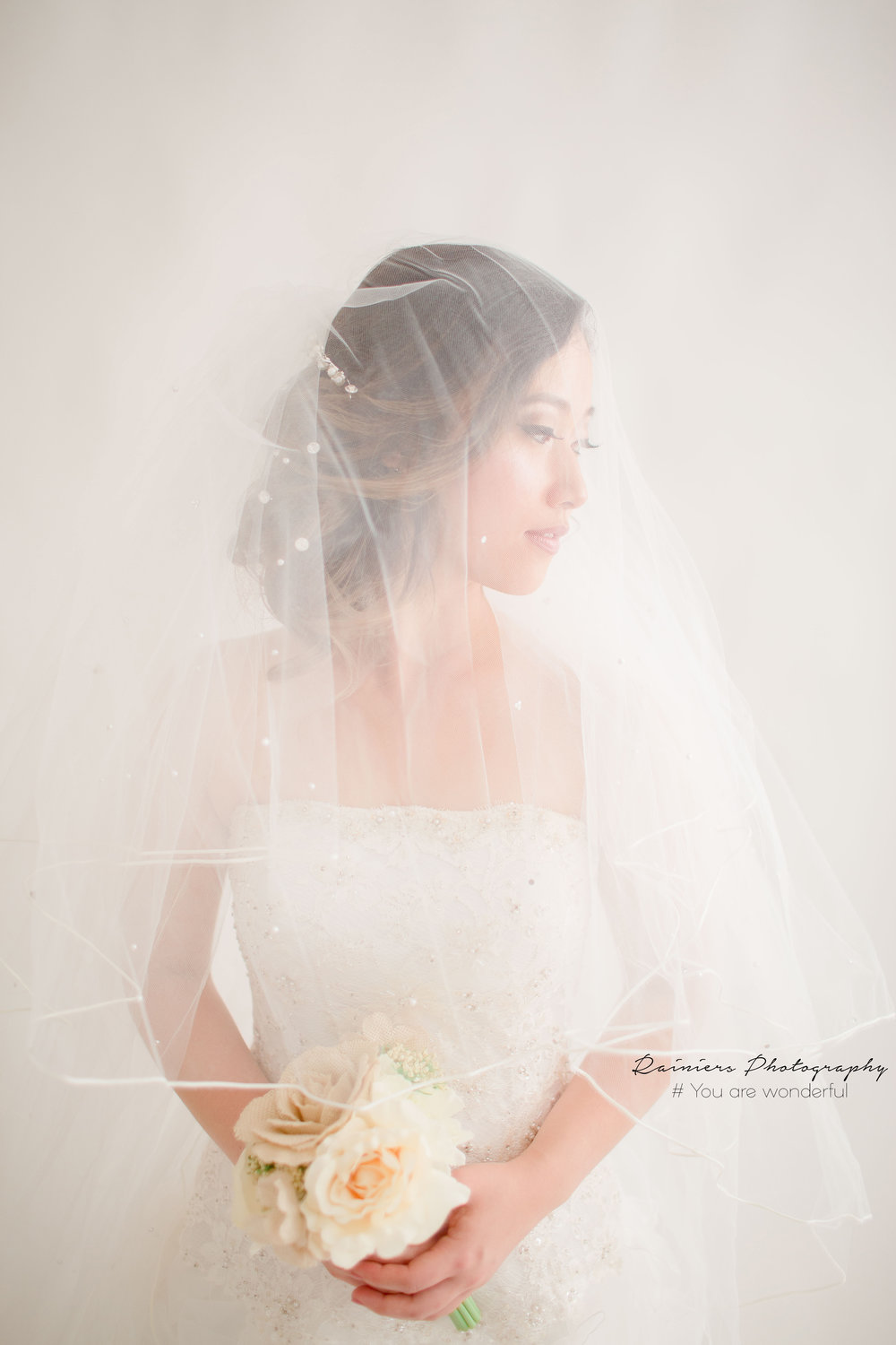 Portrait - Wedding Model: StephanyMake up and Hair Do: Henny's Salon