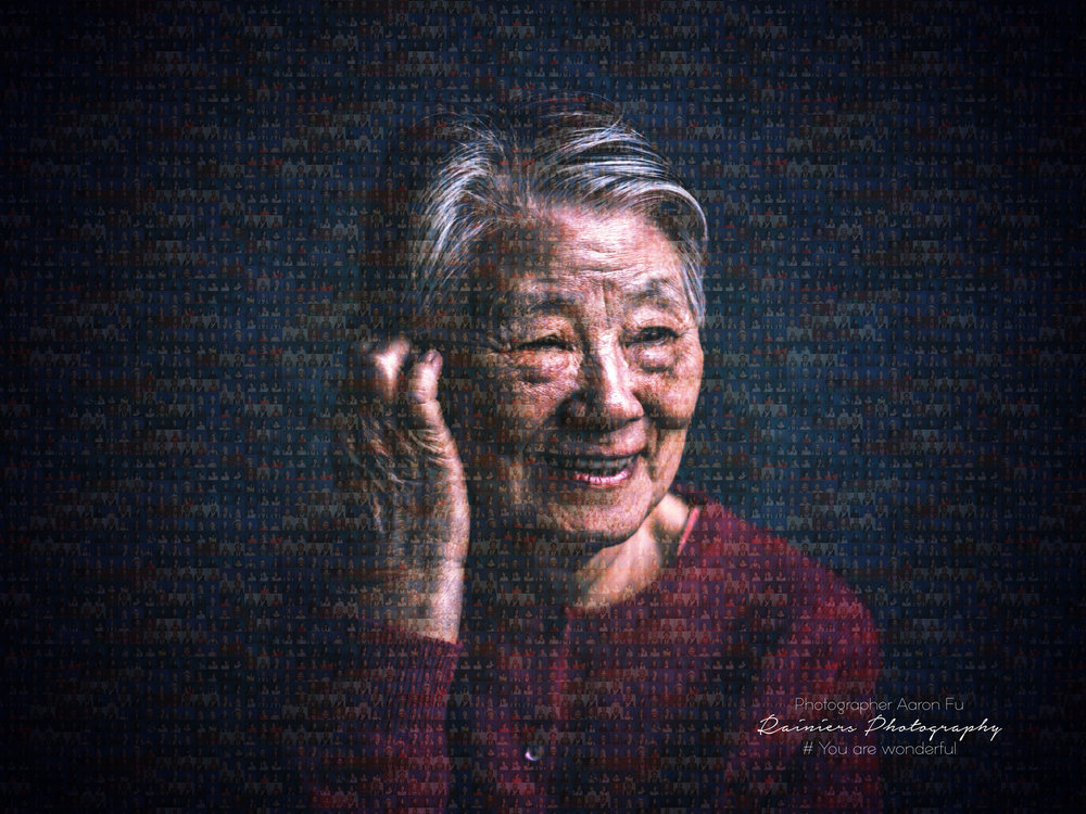 Cover photo by Aaron Fu, Mother's Day Portrait Project