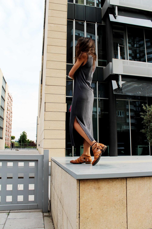 street style long dress