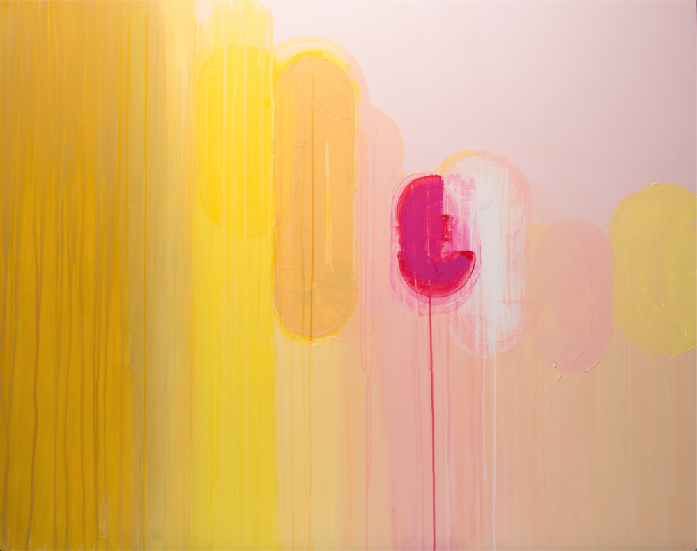 """Rinse + Repeat,  acrylic on canvas, 60"""" x 48""""   AVAILABLE  (please email to enquire about pricing)"""