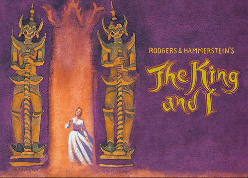 The Broadway revival of The King And I, at Lincoln Center, Opened in April 2015            Directed by Bartlett Sher with Musical Direction by Ted Sperling            LCT.org/shows/king-and-i