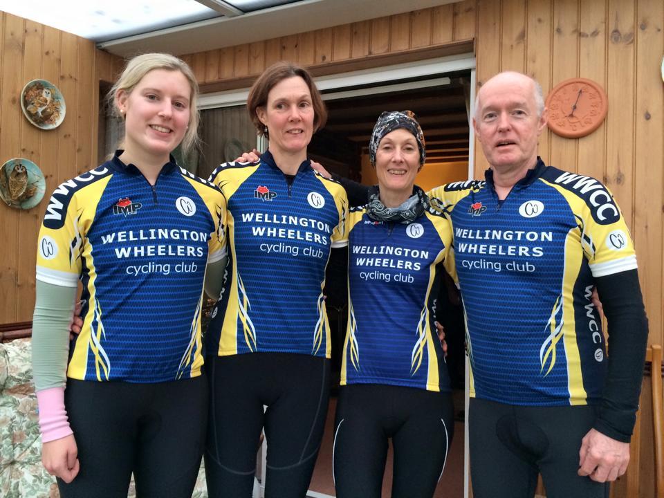 wellington wheelers club kit