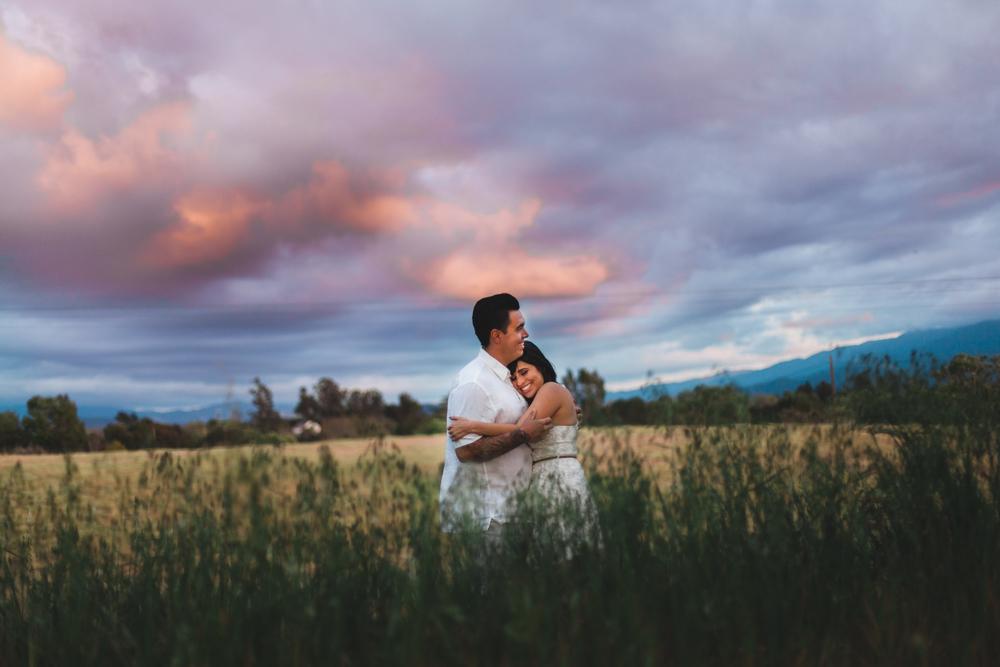 santa ynez valley engagement - john + adriana - ryanne bee photography