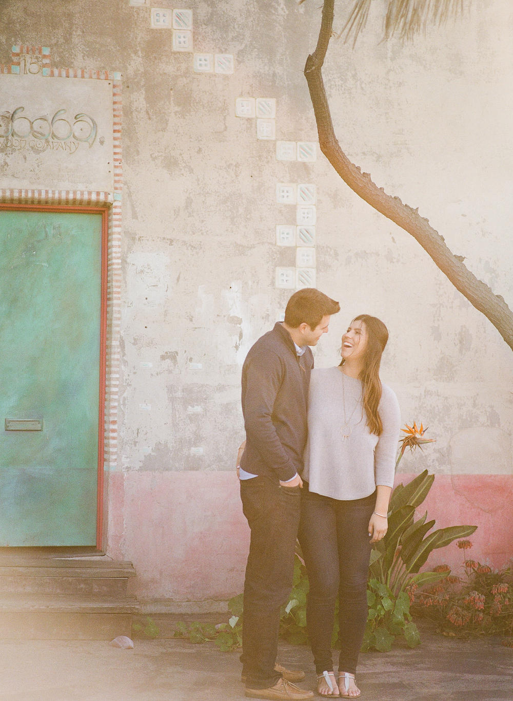 santa barbara urban engagement photographer