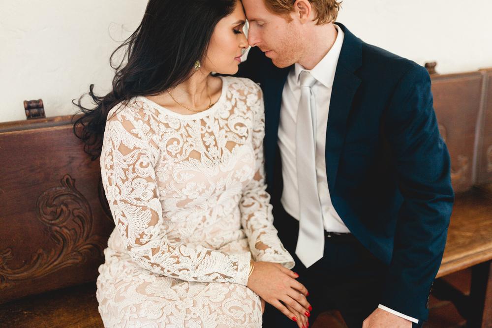 santa barbara wedding photography bride and groom portraits