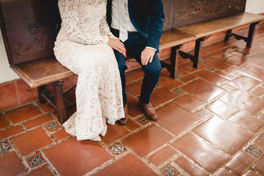santa barbara wedding photographers intimate moment
