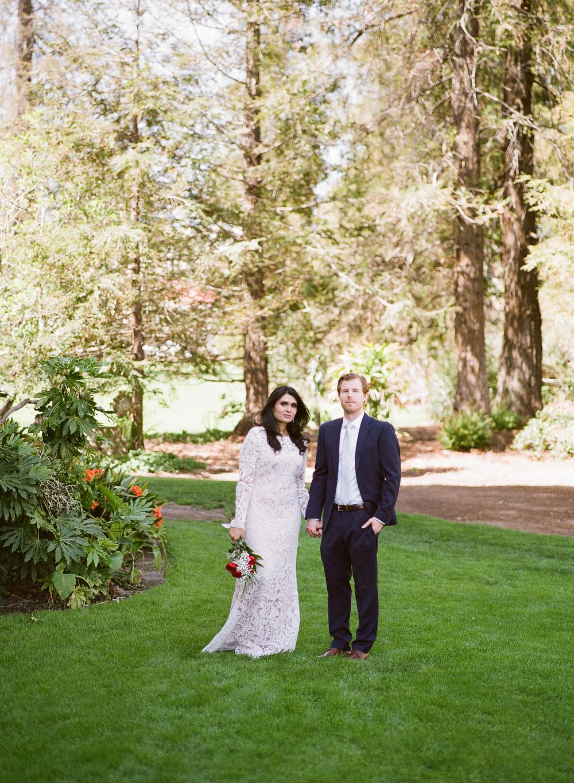 santa barbara wedding photographers bride and groom portraits