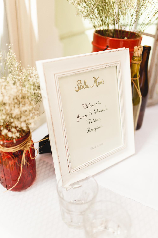 santa barbara wedding photographer reception detail